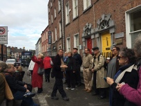 Walking tour in Dublin